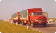 vrachtwagen jaren 70 - Vijftig jaar papier ophalen