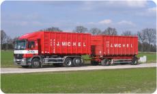 Nieuwste vrachtwagen - Oud Papier Jozef Michel